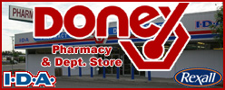 Donex Pharmacy & Department Store, 100 Mile House, BC